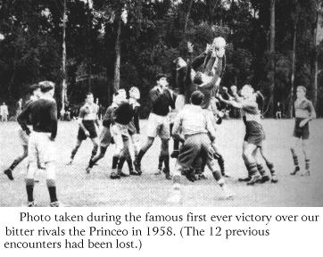 1958 Victory over Prince of Wales